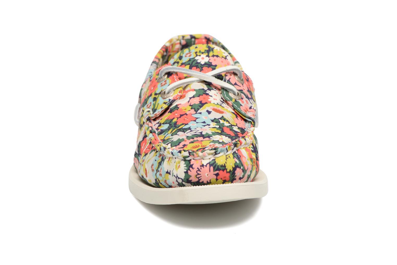 Chaussures à lacets Sebago Docksides Liberty Multicolore vue portées chaussures