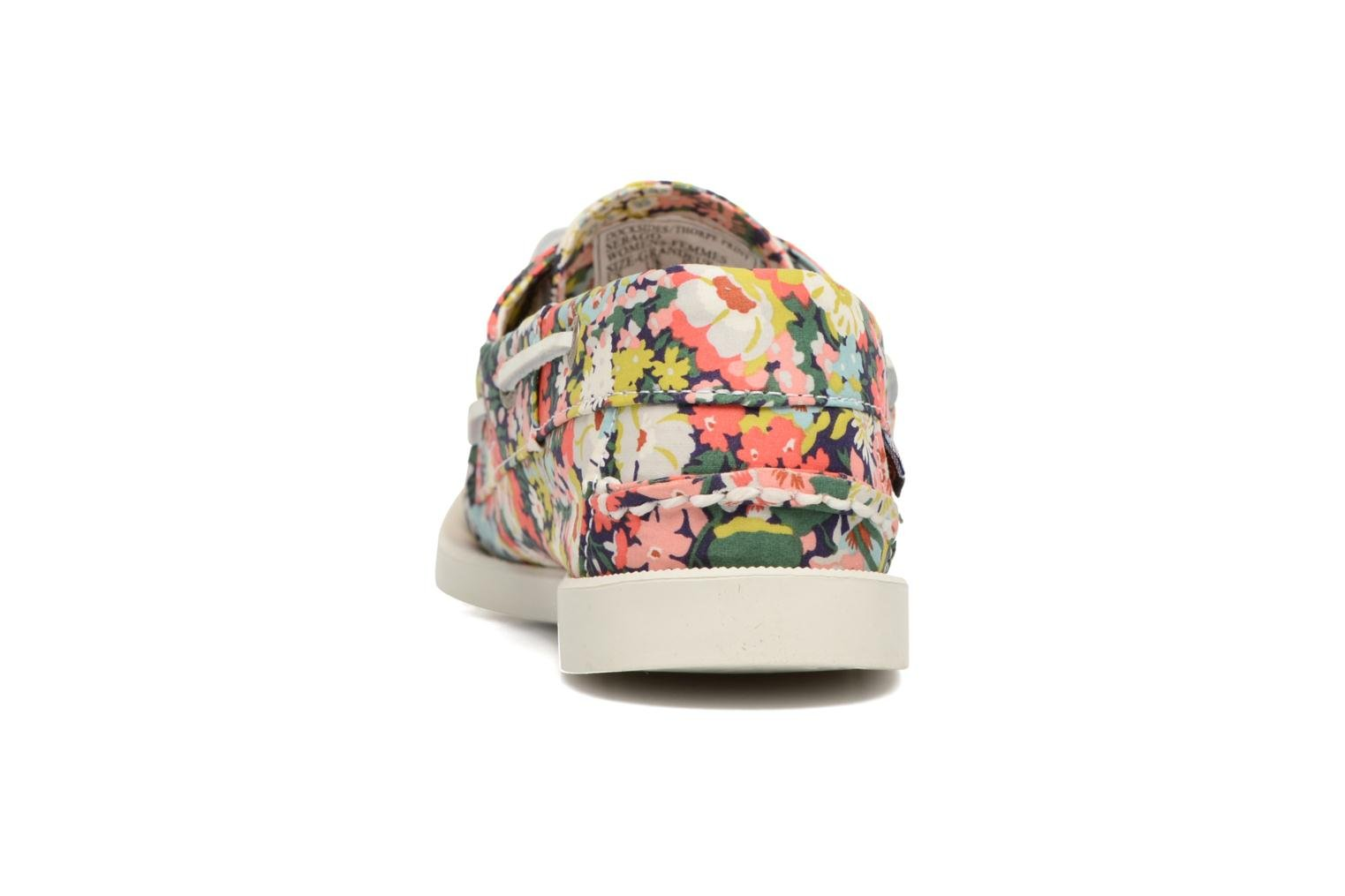 Lace-up shoes Sebago Docksides Liberty Multicolor view from the right