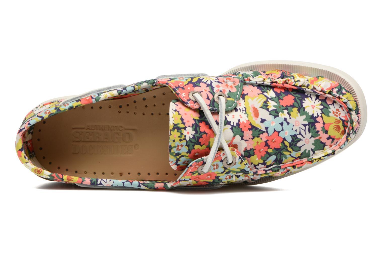 Chaussures à lacets Sebago Docksides Liberty Multicolore vue gauche
