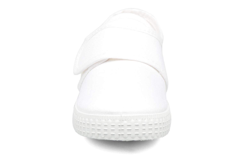 Baskets Cienta Julio Blanc vue portées chaussures