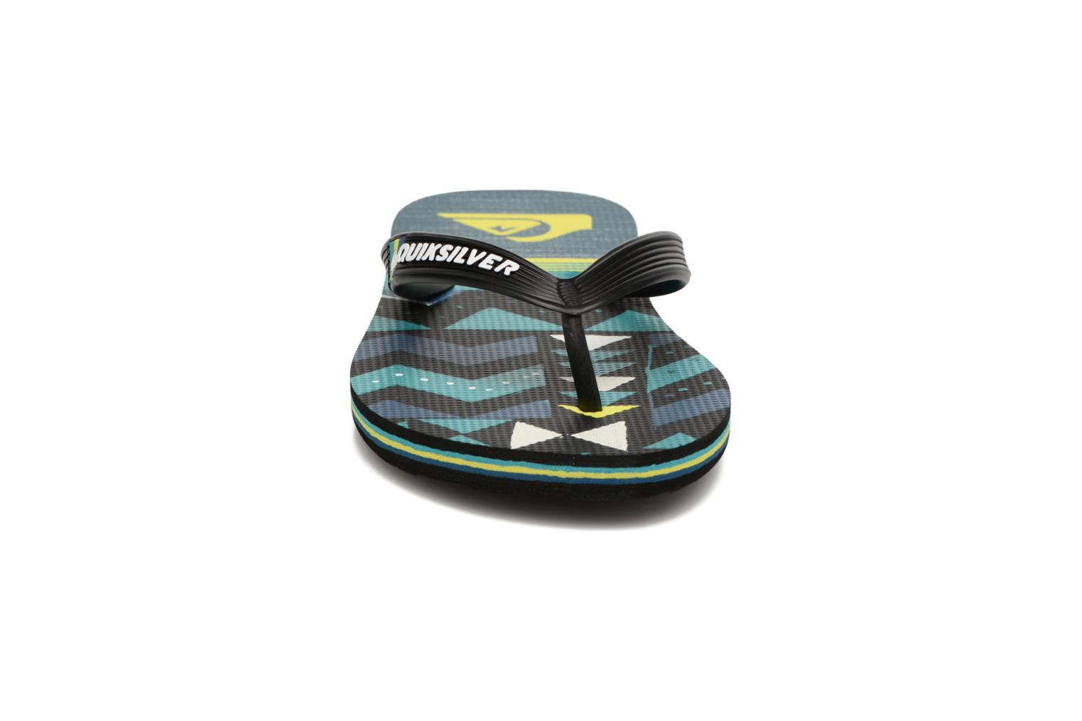 Molosla B Black/Green/Green