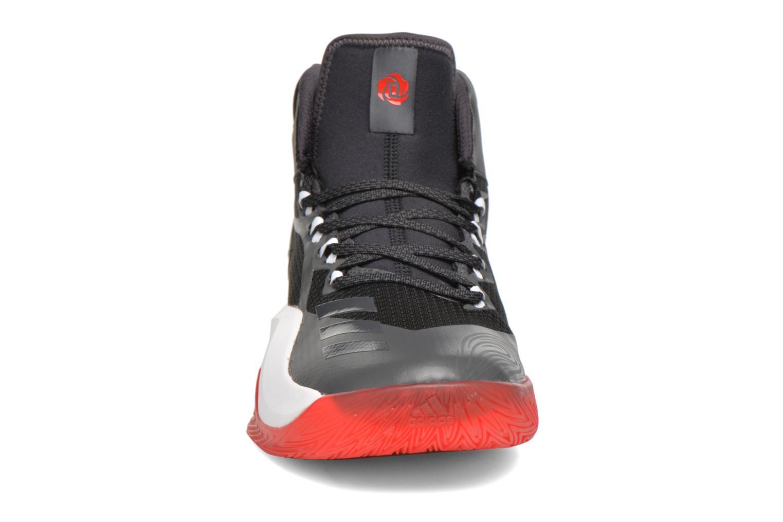 Chaussures de sport Adidas Performance D ROSE DOMINATE IV Noir vue portées chaussures