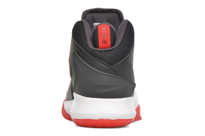 Chaussures de sport Adidas Performance D ROSE DOMINATE IV Noir vue droite