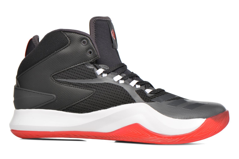 Chaussures de sport Adidas Performance D ROSE DOMINATE IV Noir vue derrière