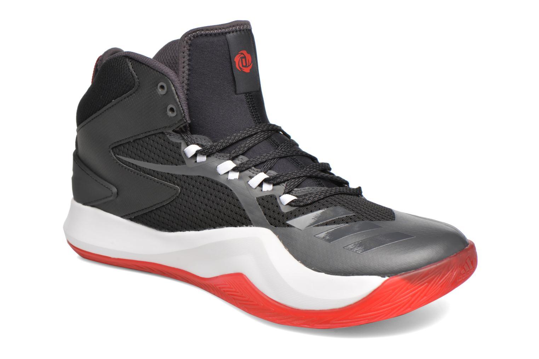 Chaussures de sport Adidas Performance D ROSE DOMINATE IV Noir vue détail/paire