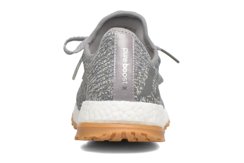 Chaussures de sport Adidas Performance PureBOOST X ATR Gris vue droite