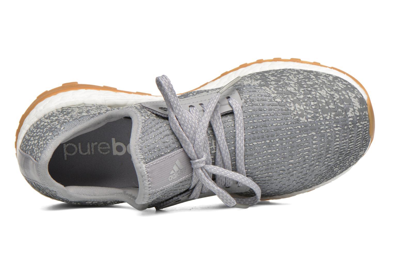 Chaussures de sport Adidas Performance PureBOOST X ATR Gris vue gauche