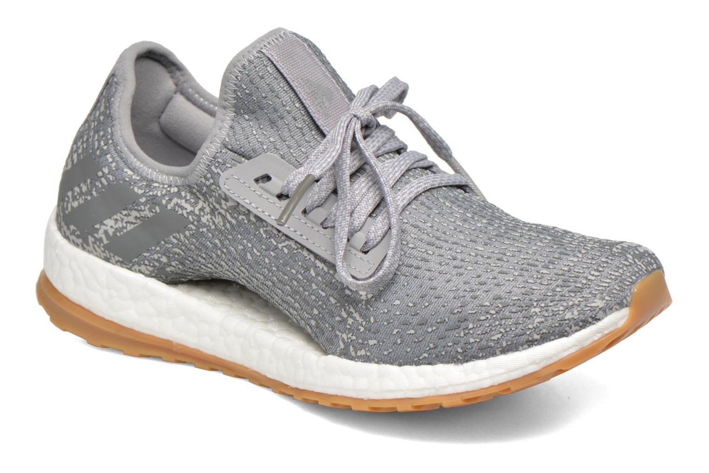 Zapatos cómodos y versátiles Adidas Performance PureBOOST X ATR (Gris) - Zapatillas de deporte en Más cómodo
