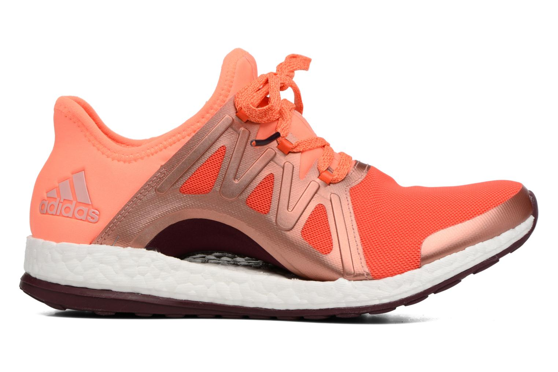 Chaussures de sport Adidas Performance PureBOOST Xpose Orange vue derrière