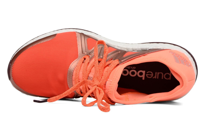 Chaussures de sport Adidas Performance PureBOOST Xpose Orange vue gauche