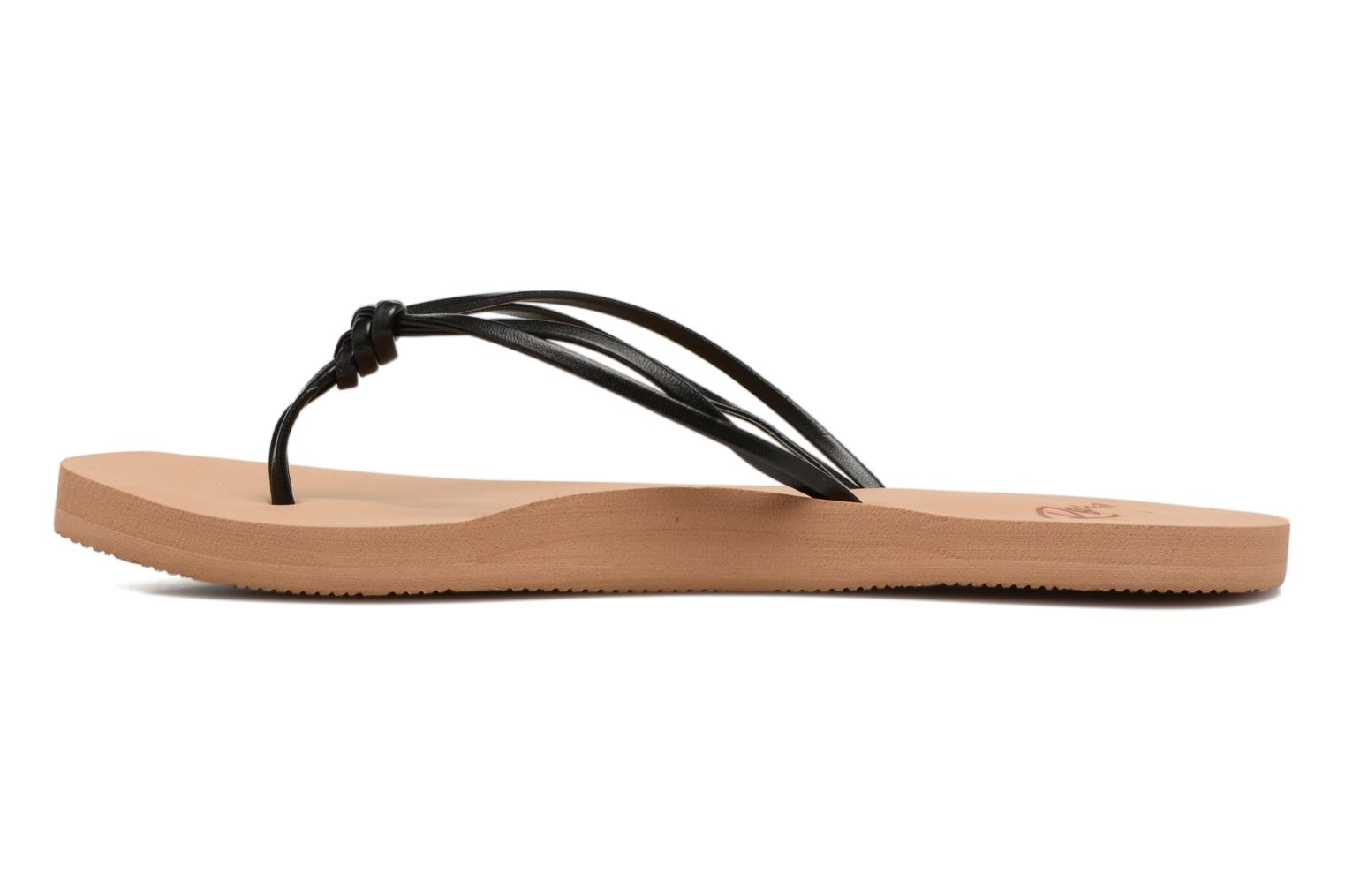 Flip flops Roxy Rg Lahaina Black front view