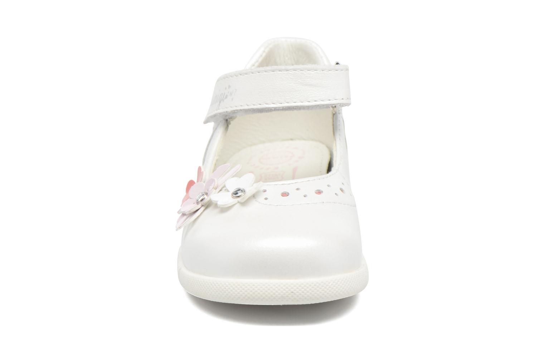 Ballerines Primigi Coleta Blanc vue portées chaussures