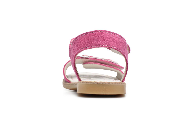 Sandales et nu-pieds Primigi Fiorela Rose vue droite