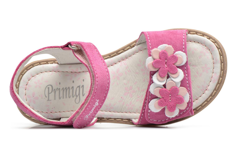 Sandales et nu-pieds Primigi Fiorela Rose vue gauche