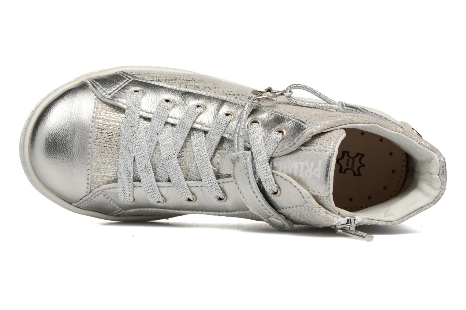Trainers Primigi Carolina Silver view from the left