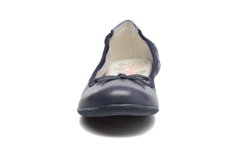 Ballerines Primigi Giulia Bleu vue portées chaussures