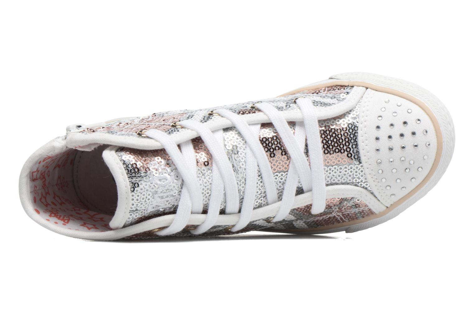 Trainers Primigi Elegancia Silver view from the left