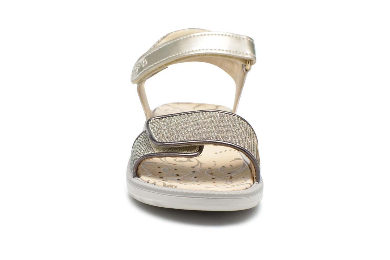 Sandales et nu-pieds Primigi Diana Or et bronze vue portées chaussures