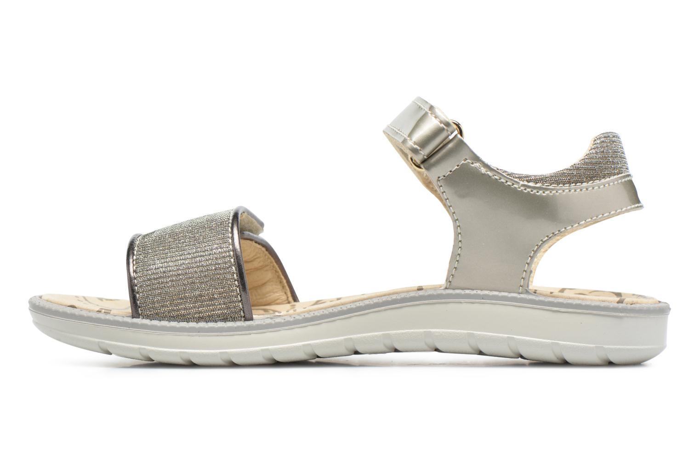 Sandales et nu-pieds Primigi Diana Or et bronze vue face