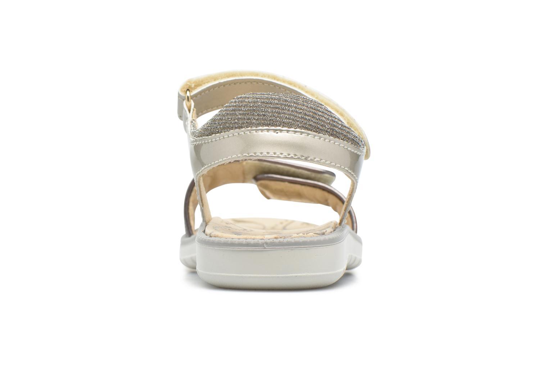 Sandales et nu-pieds Primigi Diana Or et bronze vue droite