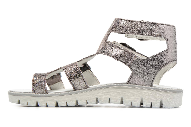 Sandales et nu-pieds Primigi Violeta Argent vue face