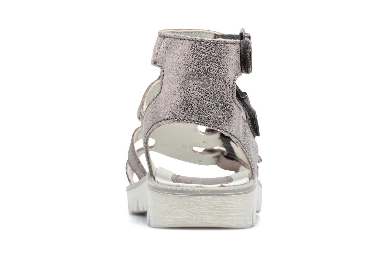 Sandales et nu-pieds Primigi Violeta Argent vue droite