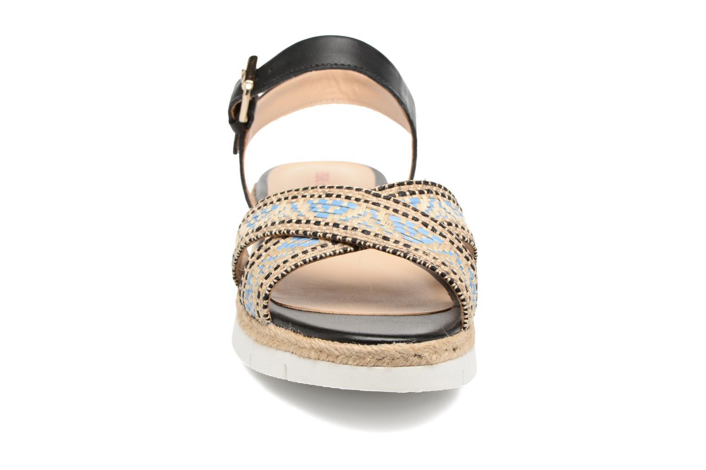 Sandales et nu-pieds Pare Gabia Paulti Multicolore vue portées chaussures