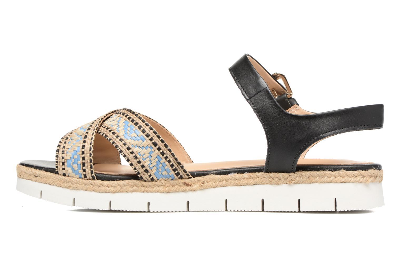 Sandales et nu-pieds Pare Gabia Paulti Multicolore vue face