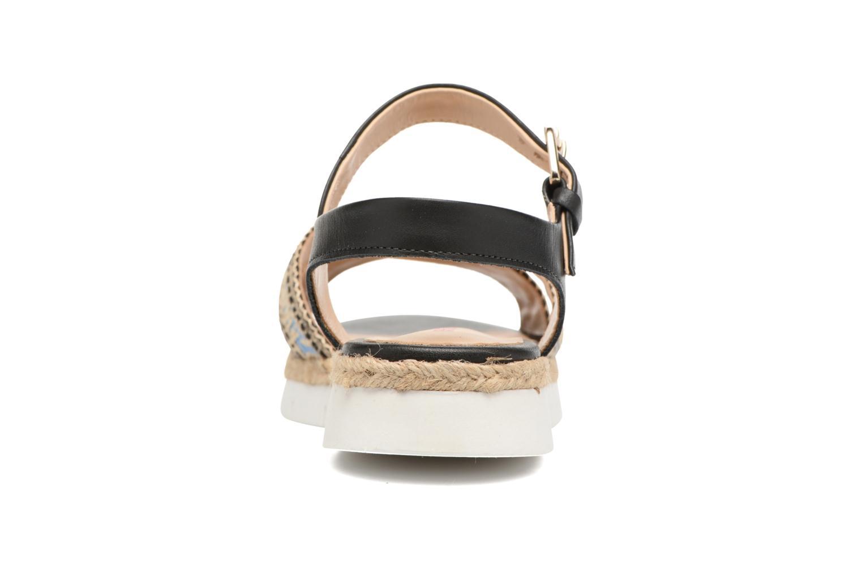 Sandales et nu-pieds Pare Gabia Paulti Multicolore vue droite