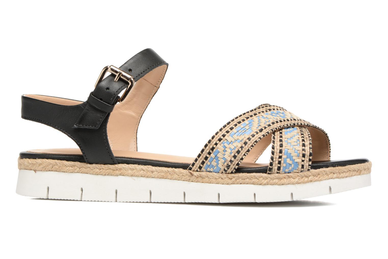 Sandales et nu-pieds Pare Gabia Paulti Multicolore vue derrière