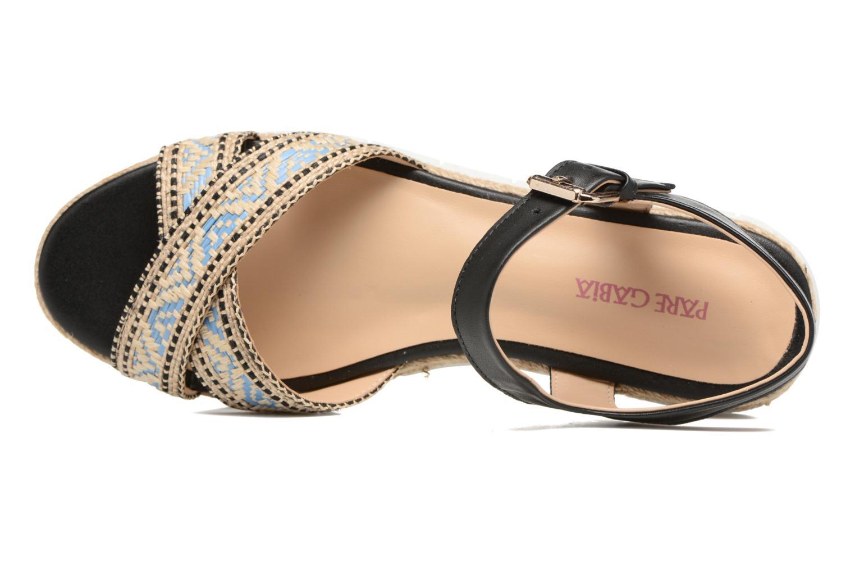 Sandales et nu-pieds Pare Gabia Paulti Multicolore vue gauche