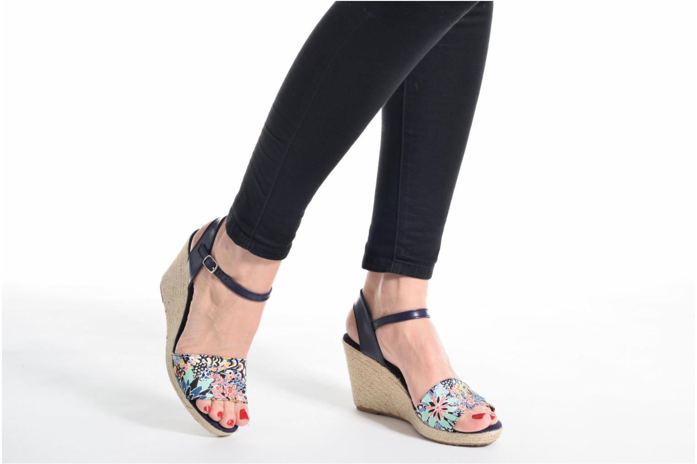 Sandales et nu-pieds Pare Gabia Marina Beige vue bas / vue portée sac