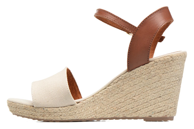 Sandales et nu-pieds Pare Gabia Marina Beige vue face