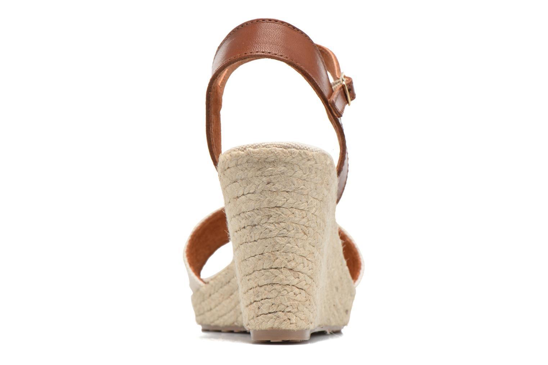Sandales et nu-pieds Pare Gabia Marina Beige vue droite