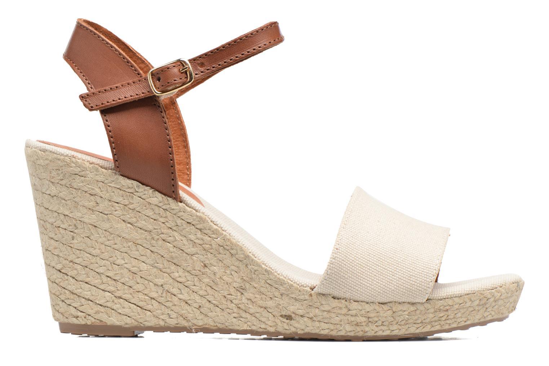 Sandales et nu-pieds Pare Gabia Marina Beige vue derrière