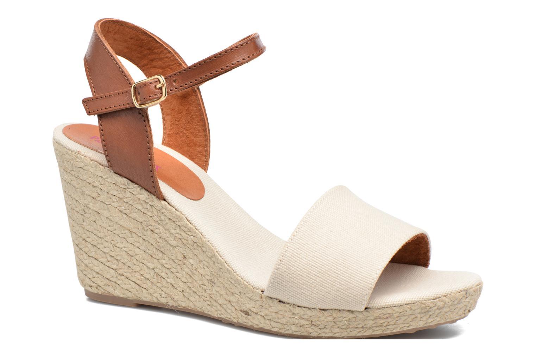 Sandales et nu-pieds Pare Gabia Marina Beige vue détail/paire