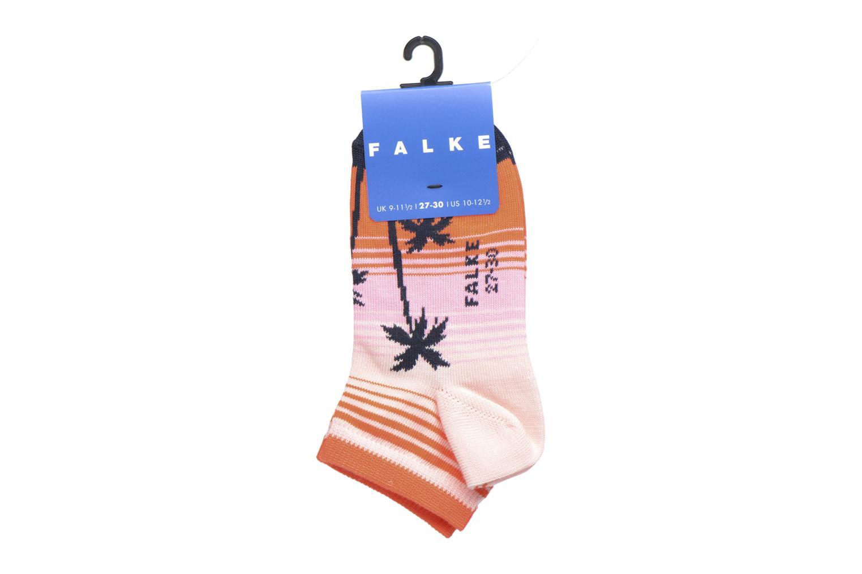 Chaussettes et collants Falke Mini-Soquettes PALM BEACH SNEAKER Coconut Multicolore vue derrière