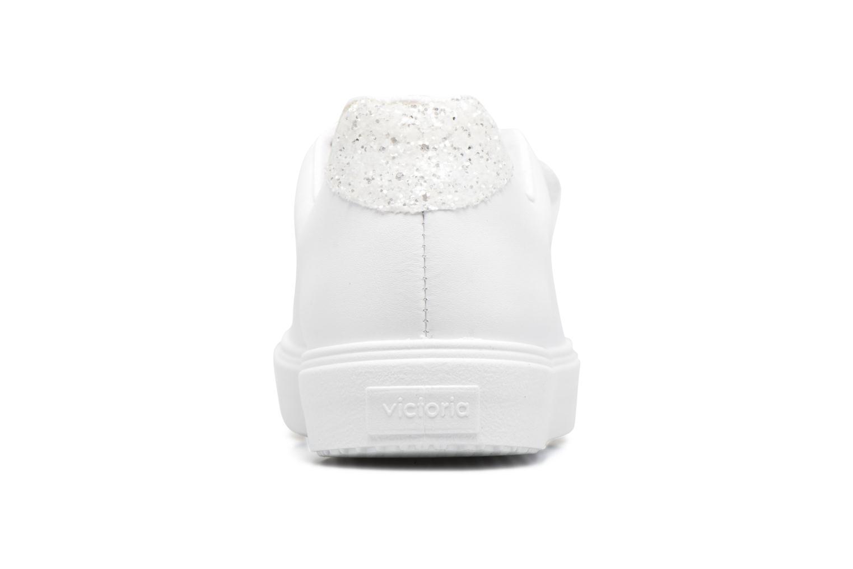 Deportivo Piel Velcros Gliss Blanco