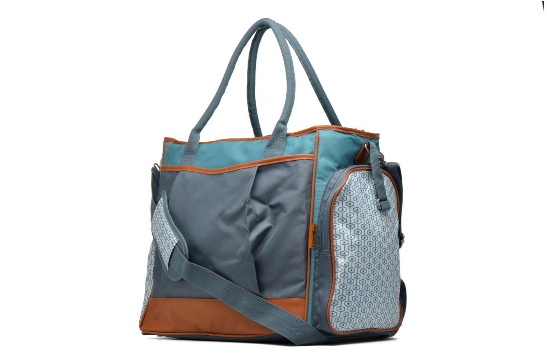 Handtassen Babymoov Sac à Langer Essential Bag Blauw rechts