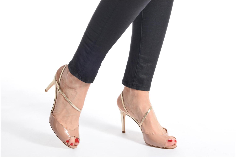 Sandales et nu-pieds L.K. Bennett Camilla Marron vue bas / vue portée sac