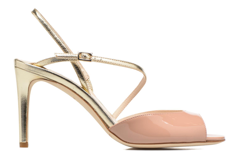 Sandales et nu-pieds L.K. Bennett Camilla Marron vue derrière