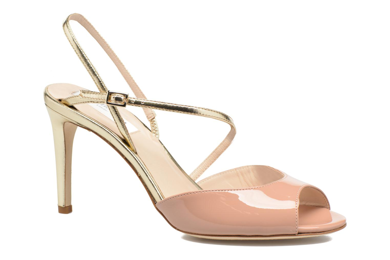 Sandales et nu-pieds L.K. Bennett Camilla Marron vue détail/paire