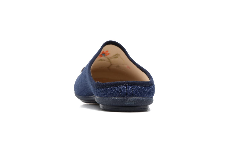 Pantoffels Rondinaud Semoy Blauw rechts