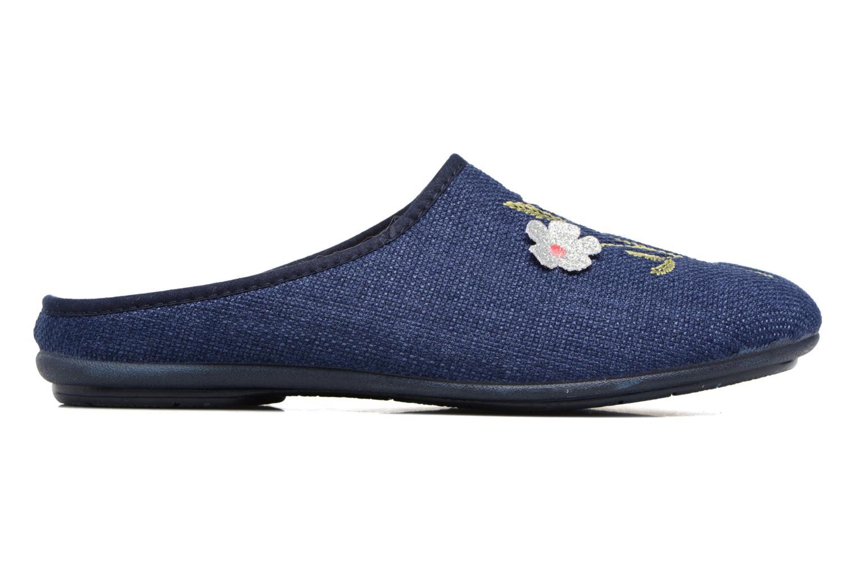 Pantoffels Rondinaud Semoy Blauw achterkant
