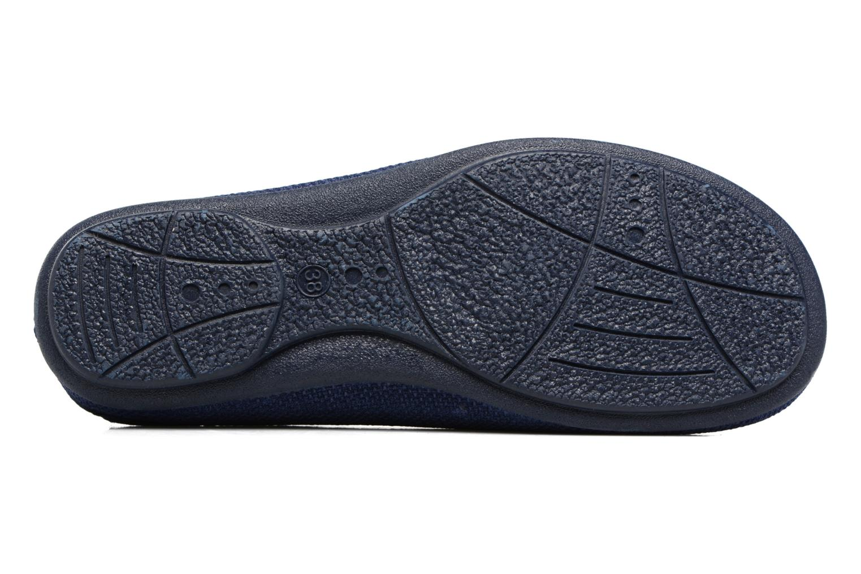 Pantoffels Rondinaud Semoy Blauw boven