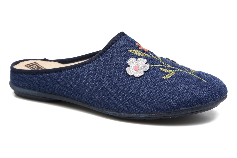 Pantoffels Rondinaud Semoy Blauw detail