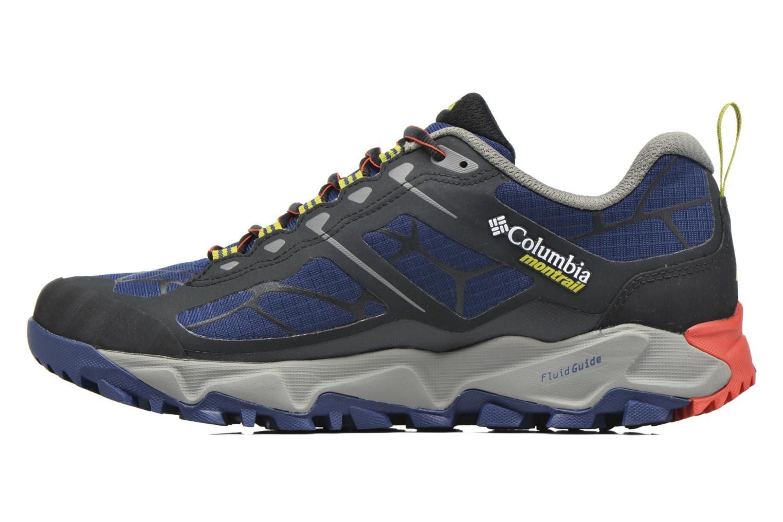 Chaussures de sport Columbia Trans Alps II Bleu vue face