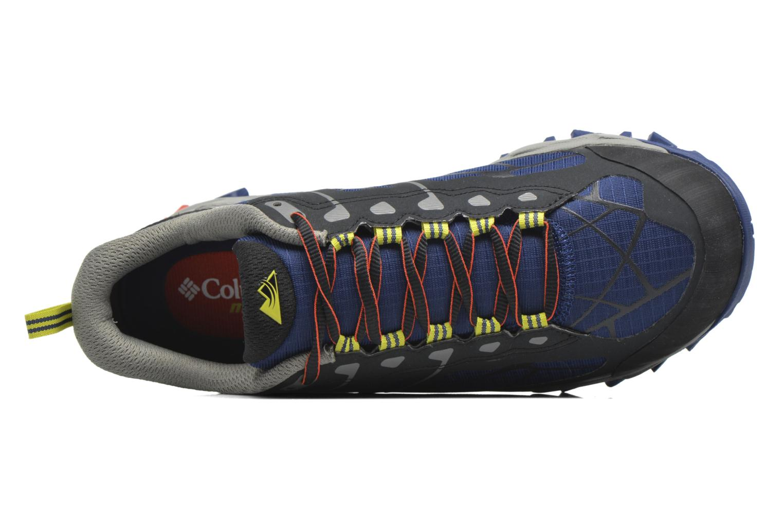 Chaussures de sport Columbia Trans Alps II Bleu vue gauche