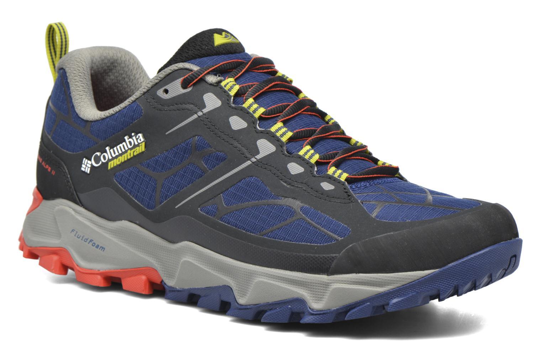Chaussures de sport Columbia Trans Alps II Bleu vue détail/paire