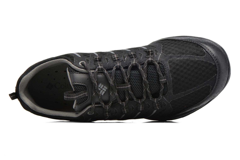 Chaussures de sport Columbia Ventrailia Razor Outdry Noir vue gauche